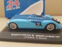 Macheta Bugatti E 57 LE MANS 1937 scara 1/43