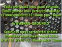 Tabla perforata inox gauri rotunde 1mm tip R10T15 sita otel