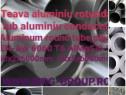 Teava aluminiu rotunda 60mm tub aluminiu alama cupru inox