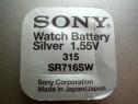 Baterie ceas Sony, cu argint 315-SR716SW.