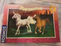 Puzzle 200 piese cu unicorn și cal
