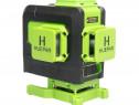 Nivelă laser Huepar 903DG 3D, fascicul verde cu 12 linii