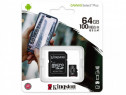 Card microSD 32gb 64gb Kingston clasa 10 noi sigilate