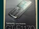 Samsung GT-E 1170I nou la cutie complect