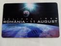 Cartela telefonica de colectie, eclipsa august 1999