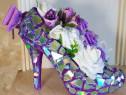 Pantof decorativ GLAM Vaza Martisor 8 Martie