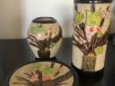 Pachet de 3 bucăți elemente decorative din ceramica.