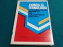 Chimia și tehnologia intermediarilor aromatici și a coloranț