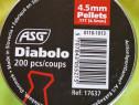 400 alice pelete capse 4.5 mm asg ( cap plat )
