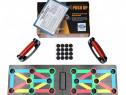 Placă fitness antrenament flotări, pe bază de culori - NOU