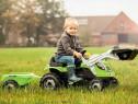 Tractor cu pedale, cupa si remorca Farmer Max Smoby, nou