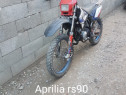 Motocicleta Cross aprilia rs90