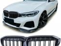 Grile Negru lucios BMW 3er G20 Limo G21 Touring (2018+)