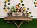Suport flori pentru gradina sau balcon-