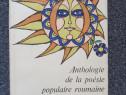 Anthologie de la poesie populaire roumaine