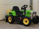 Tractor electric pentru copii BJ-611 70W 12V cu Remorca