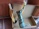 Noua Prastie/Rapida corzi triple maner verde aluminiu