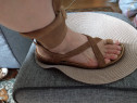 Sandale piele, Camper, mar 39 (24.5 cm)