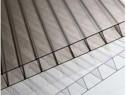 Policarbonat monocameral transparent/ fumuriu 4x2100x6000 mm