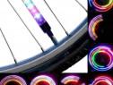 Set LEDURI RGB pentru bicicleta, 13 moduri iluminare, functi