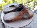 Slapi - sandale piele, Output, mar 44 (28 cm)