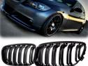 Set grile BMW seria 3 e90 e91 LCI capota (09-11) grila negru