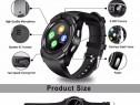 Ceas Smartwatch V8 HandsFree Bluetooth 3.0 Micro SIM Androi