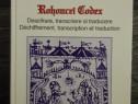 Viorica enachiuc manuscrisul rohonczi codex