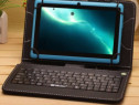Husa Tableta 9 Inch Cu Tastatura Micro Usb Model X Negru C13