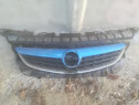 Grila radiator Opel Astra J cu ornament albastru