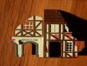 Macheta diorama casa germana traditionala