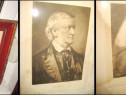 Gravuri pereche vechi Wagner si Liszt.