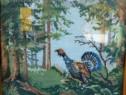 3 tablouri de goblen înrămate