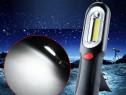 Lanterna Lampa Lucru Camping Auto Negru cu Led COB SMD C65