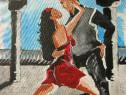 """Tablou """"Dansatorii de tango"""""""
