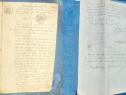 Act vechi Romania vVanzare-Complet Slatina Olt-11 04 1922.