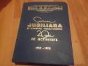 Jubiliara de comunicari tehnico-stiintifice 20 ani de activi