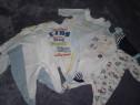Salopete bumbac bebe 0-3 luni