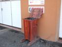 Cosuri de gunoi din lemn ecologice la comanda