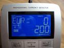 Detector profesional cu afisaj LCD pentru valuta euro,franci