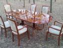 Set masa+6 scaune lemn masiv germania