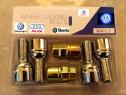 Set Prezoane antifurt VW Audi, Seat Skoda pt jante Originale