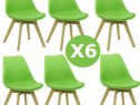 Set 6 scaune de living si bucatarie Transport Gratuit