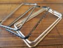 Husa Rama din aluminiu+Pietre pt Iphone 6 Plus,Nou,Ultra sli
