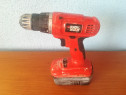 Autofiletanta, Bormasina,Black & Decker 18v