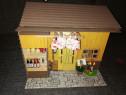 Casa de papusi - Sakura Tea House + Familie Sylvanian