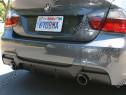 Difuzor ornament adaos prelungire bara spate BMW E90 E91 v2