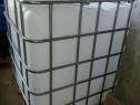 Ibc 1000l albe curate cum se vede în poze cu grilaj