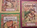 Robin Hood + Robinson Crusoe + Calatoriile lui Gulliver