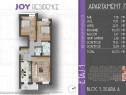 Apartament 3 camere, pozitie excelenta, 2 balcoane central